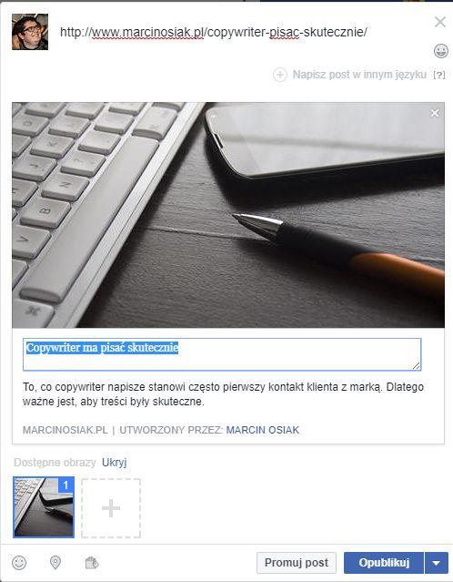 Rozwiń biznes post_fb