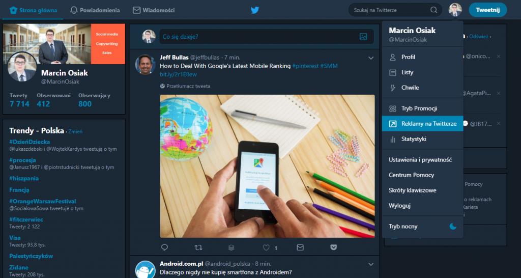 Reklama naTwitterze może być skuteczna: tweetdeck