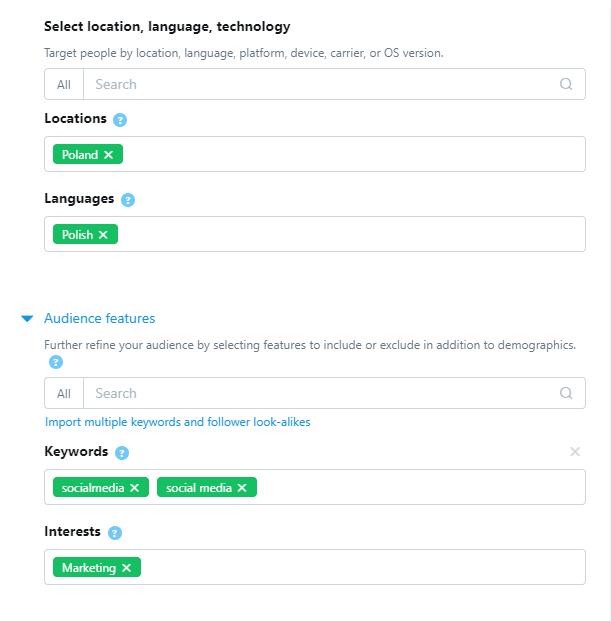 Reklama naTwitterze może być skuteczna: grupy docelowe